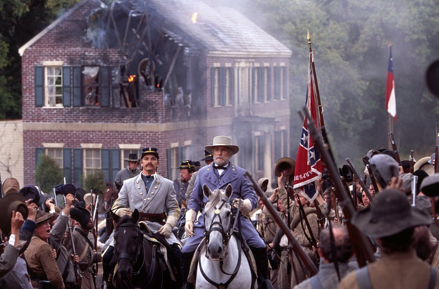 A scene from Gods and Generals
